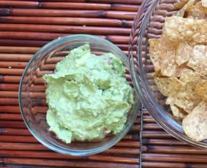 Chips and guac for Sunday's big game